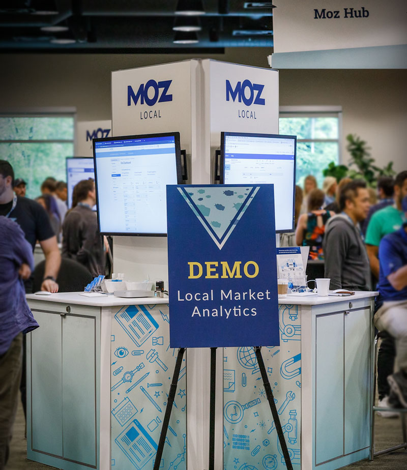MozCon booths
