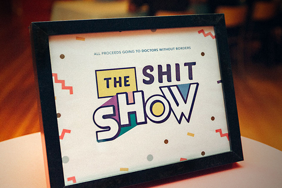 Shit Show Sign