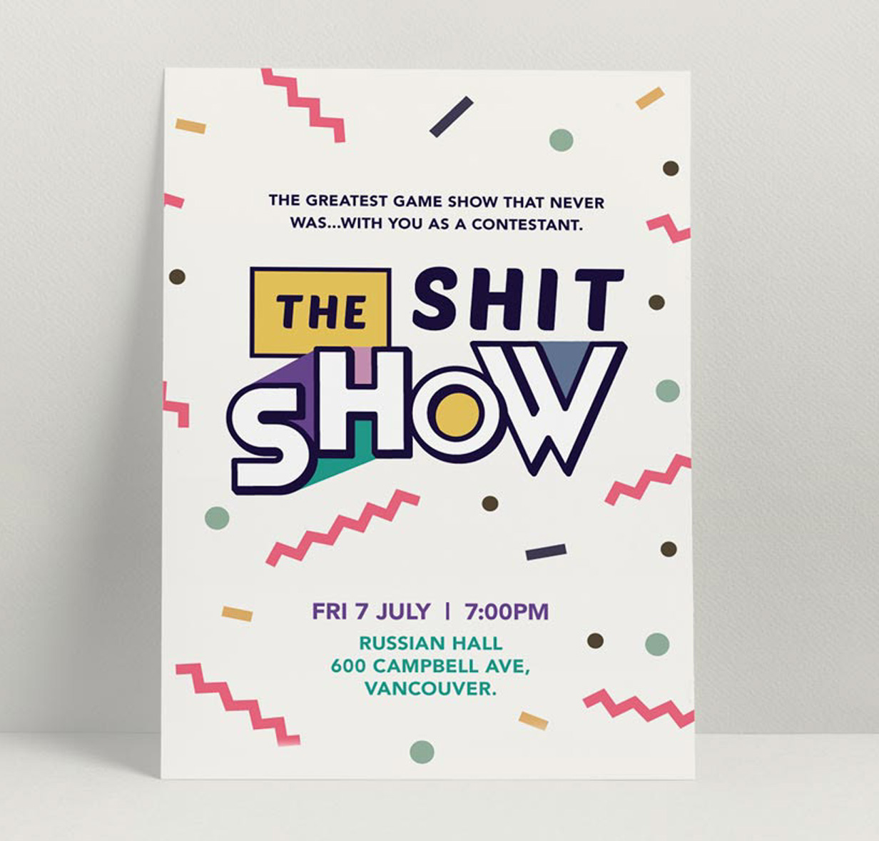 Shit Show Poster