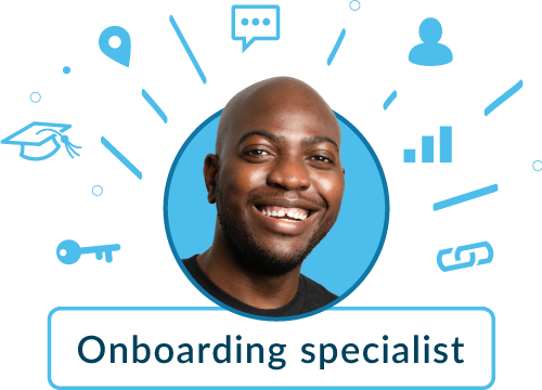 Onboarding specialist graphic - ola